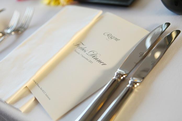 Forbes Dinner at Regent Bali